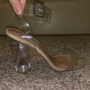 Steve Madden Clearer Clear heels